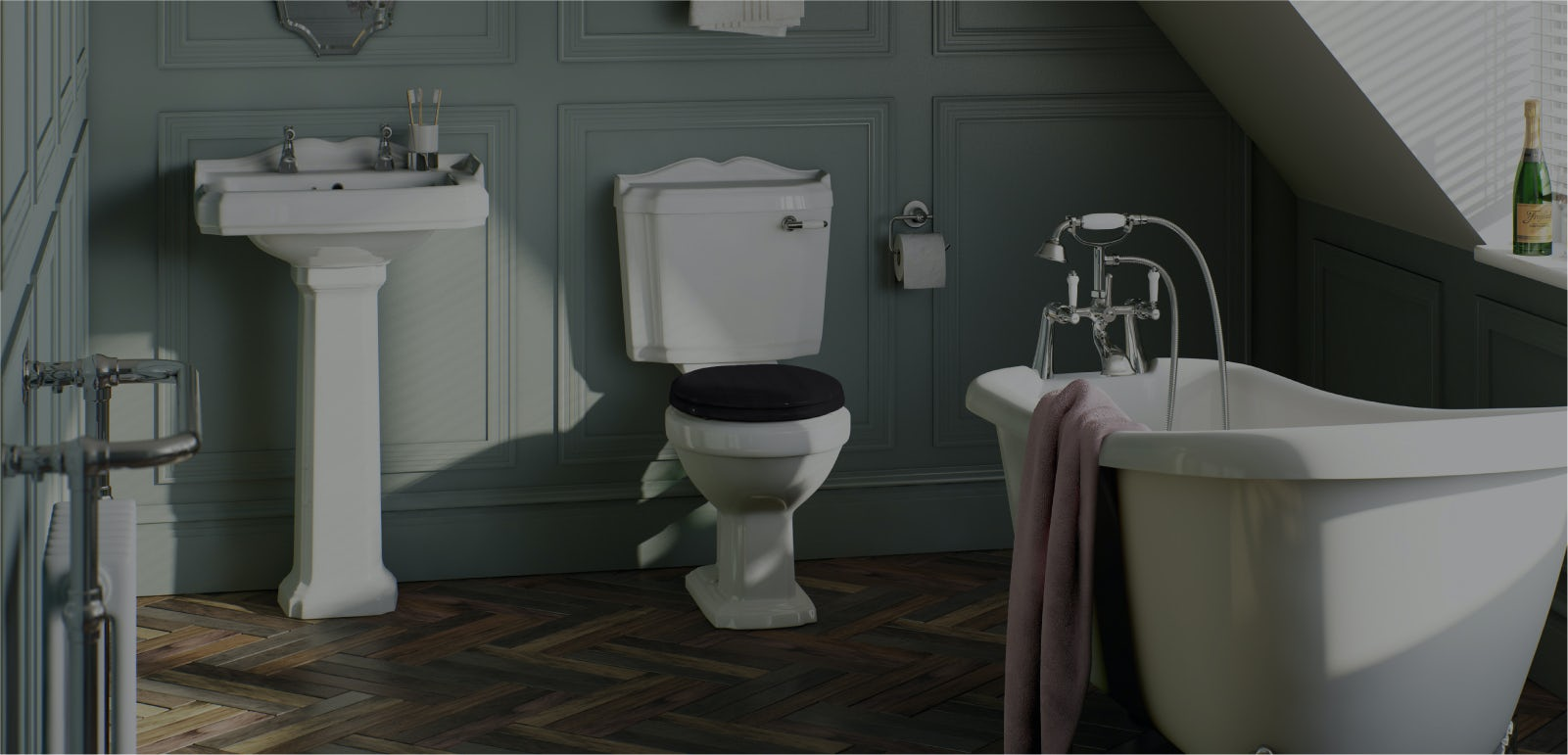 Stylist's selection: Nicky's top bathroom picks for April