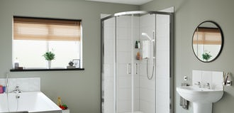 Mira Showers: Creating a bathroom space for the whole family