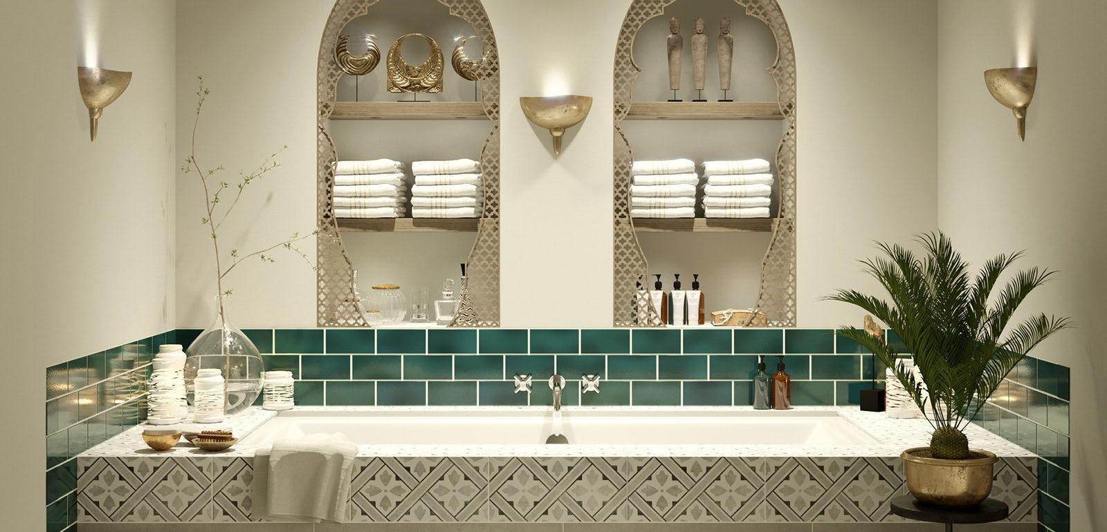 Bathroom ideas: Arabian Nights