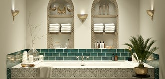 Bathroom ideas: Arabian Nights