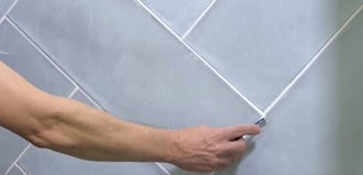 Modern Fixes: How to regrout tiles