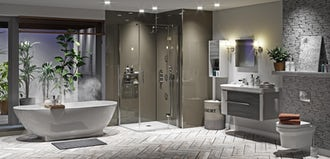 4 easy ways to add a design theme to your bathroom
