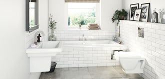 Bathroom suites for small bathrooms