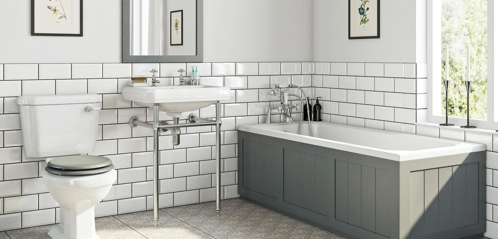 5 Gorgeous Scandinavian Bathroom Ideas: Beautiful Bathroom Suite Ideas 2019