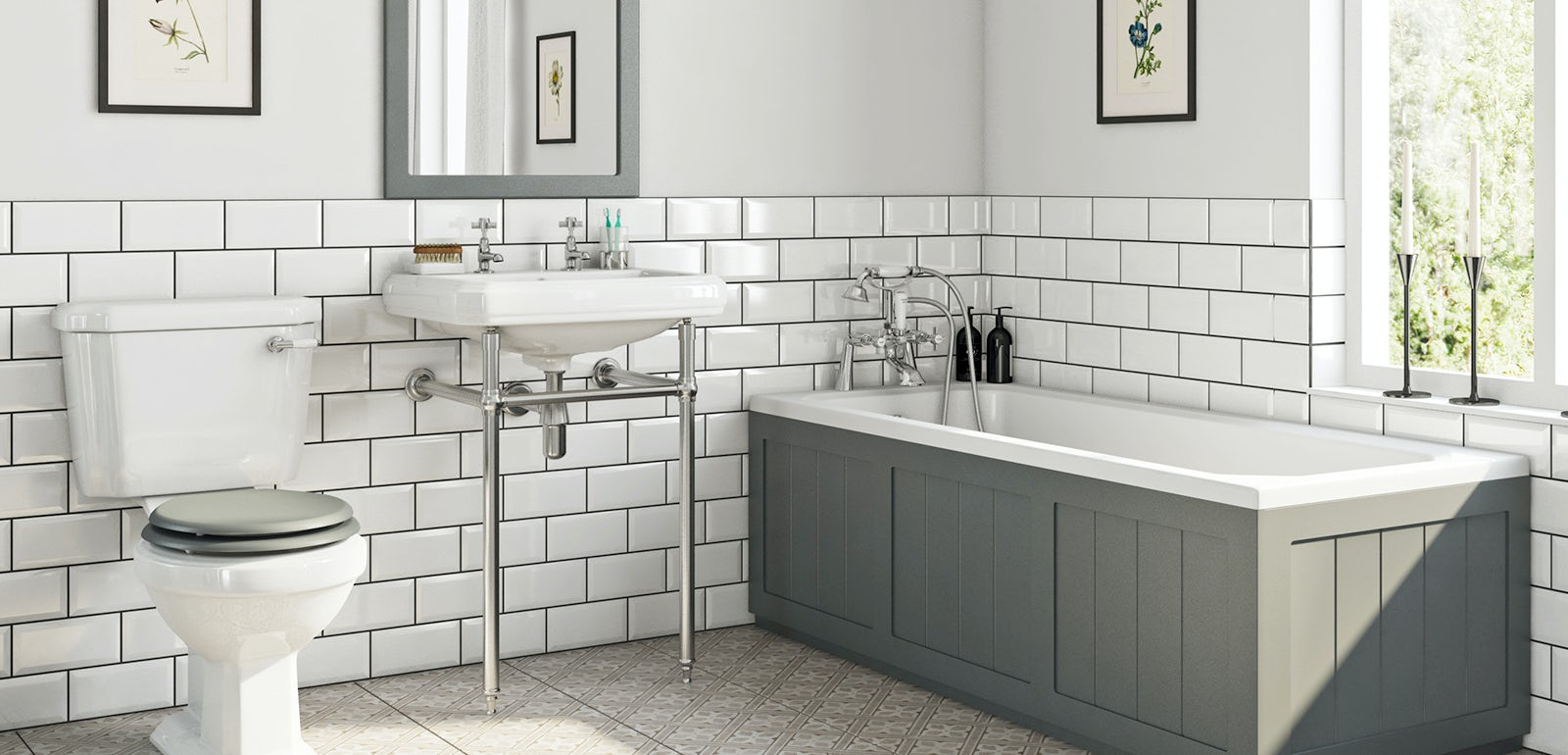 5 beautiful bathroom suite ideas for 2019