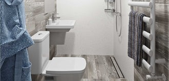 Small Spaces: Small wetroom? No worries...