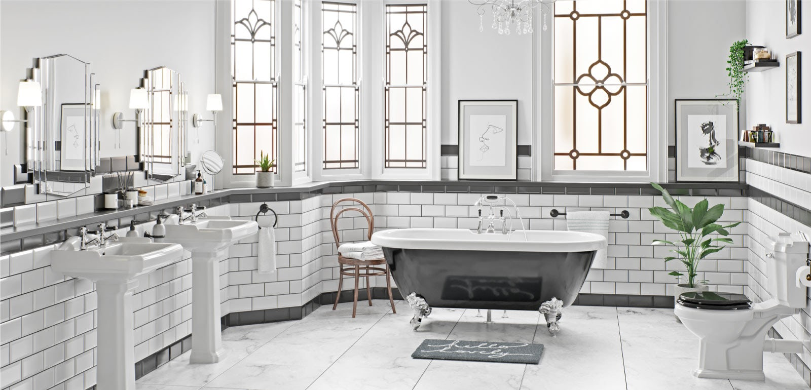 Art Deco Bathroom Ideas Victoriaplum Com