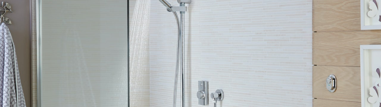 Digital showers from Aqualisa