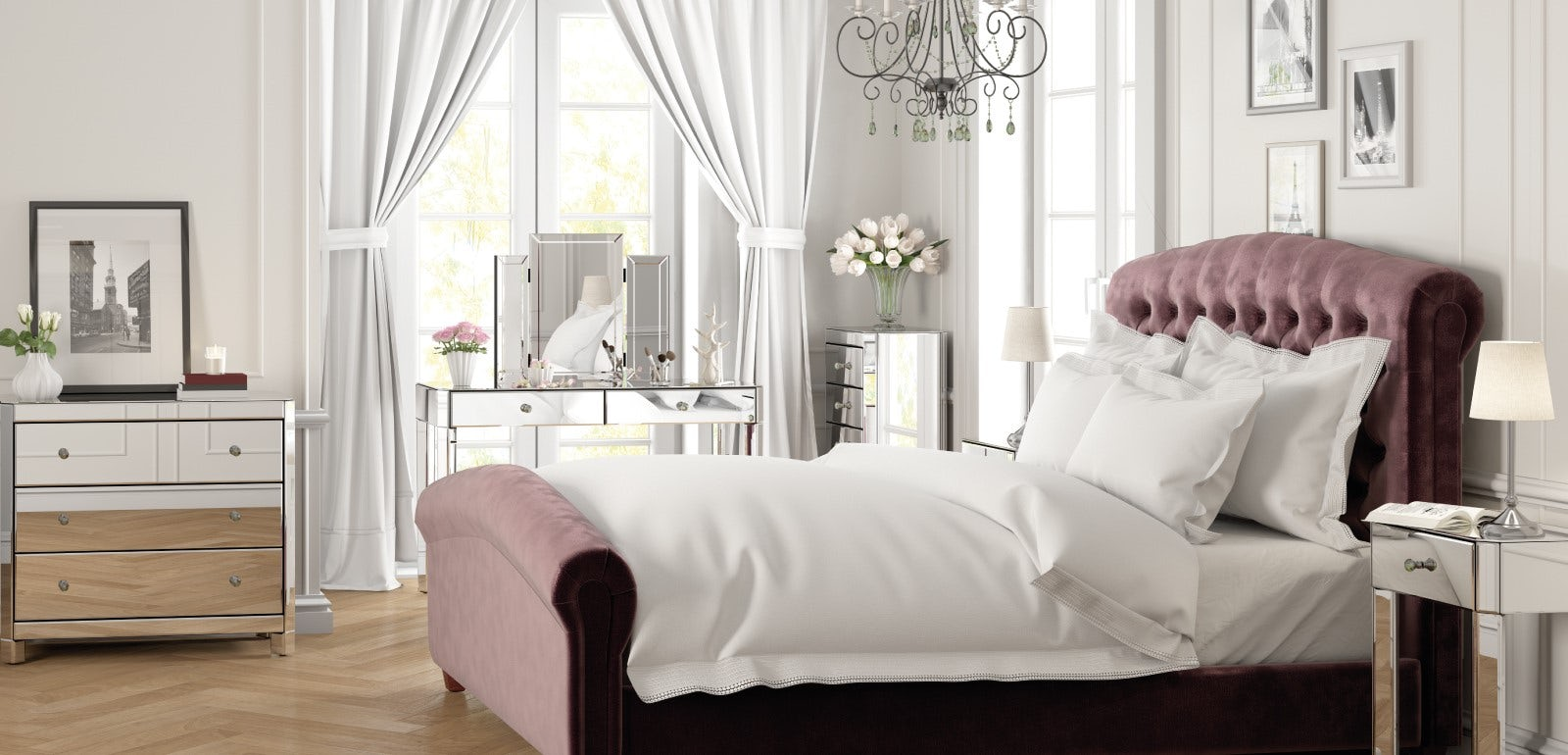 Give your bedroom the feminine touch