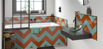 Bathroom Ideas: Maximalism