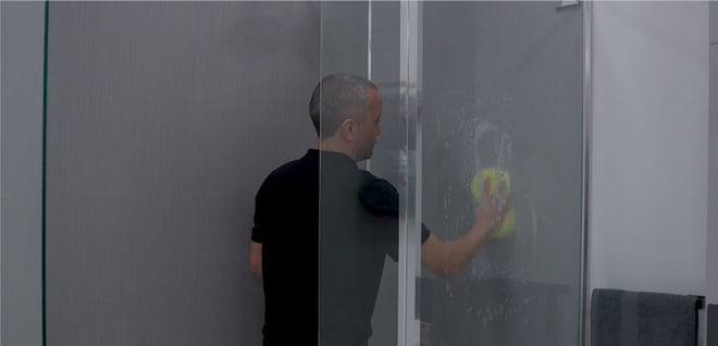 Modern Fixes: How to clean shower wall panels