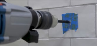 Modern Fixes: How to drill through a tile without damaging it