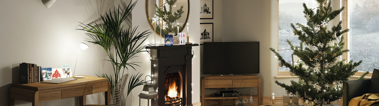 Get your home ready for Christmas: A festive living room