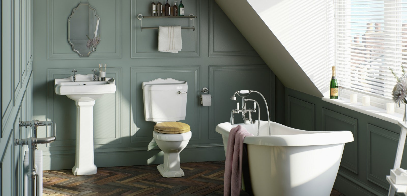 5 ways to create more space in your bathroom