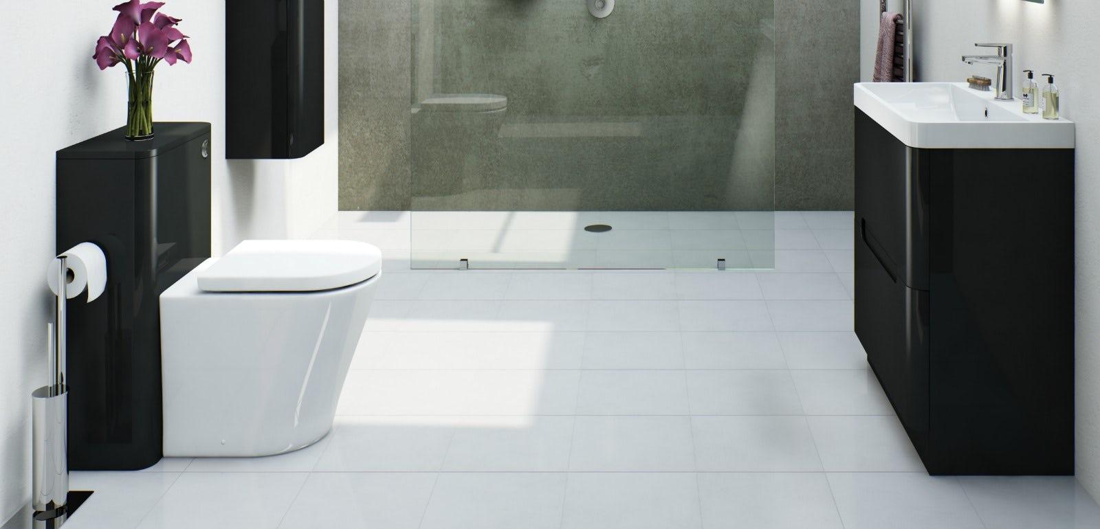 Contemporary bathroom inspiration | VictoriaPlum.com