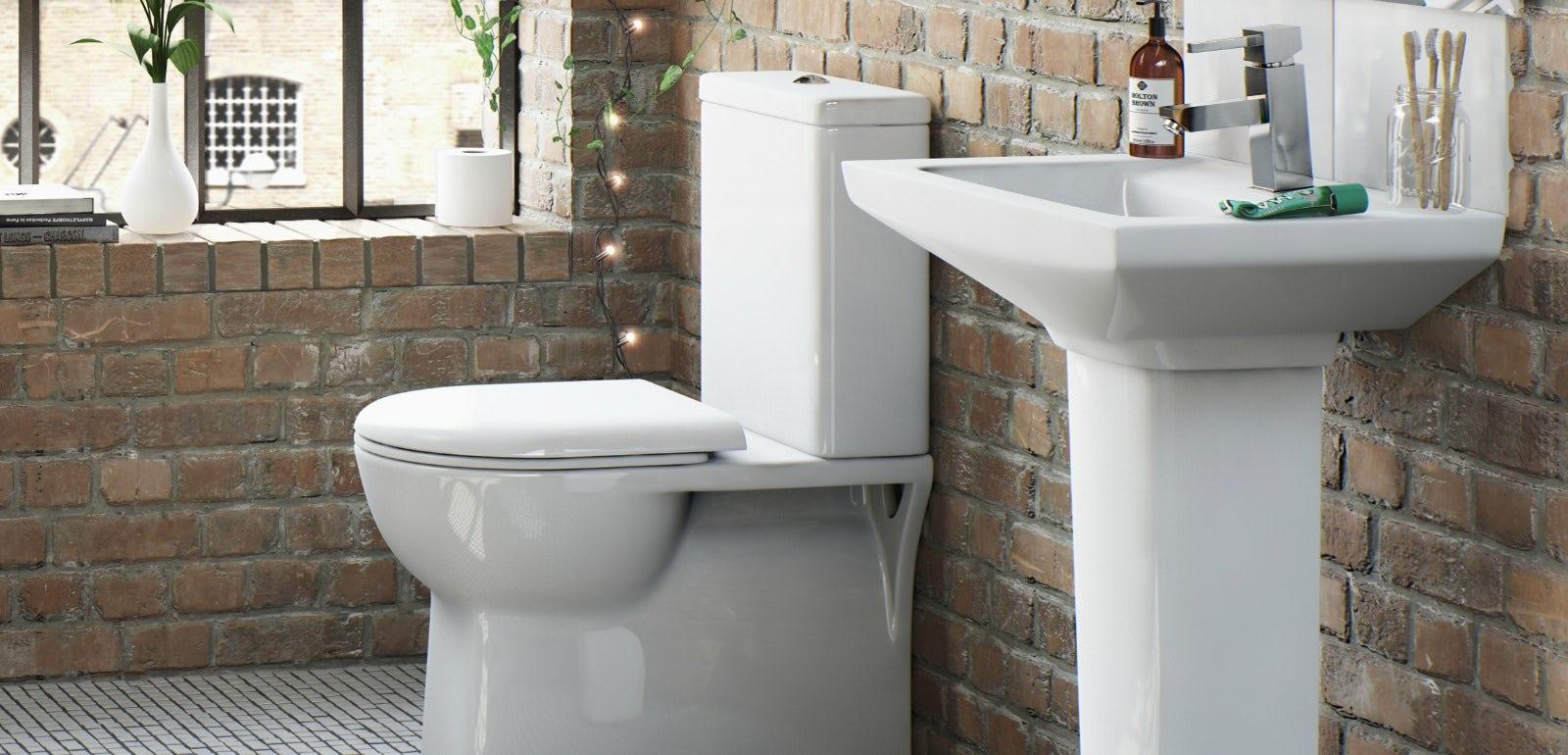 How to create a modern rustic style bathroom