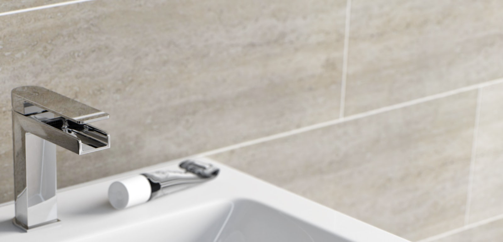 How to fit a basin mixer tap