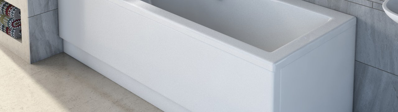 How to fit an acrylic bath panel in 7 easy steps