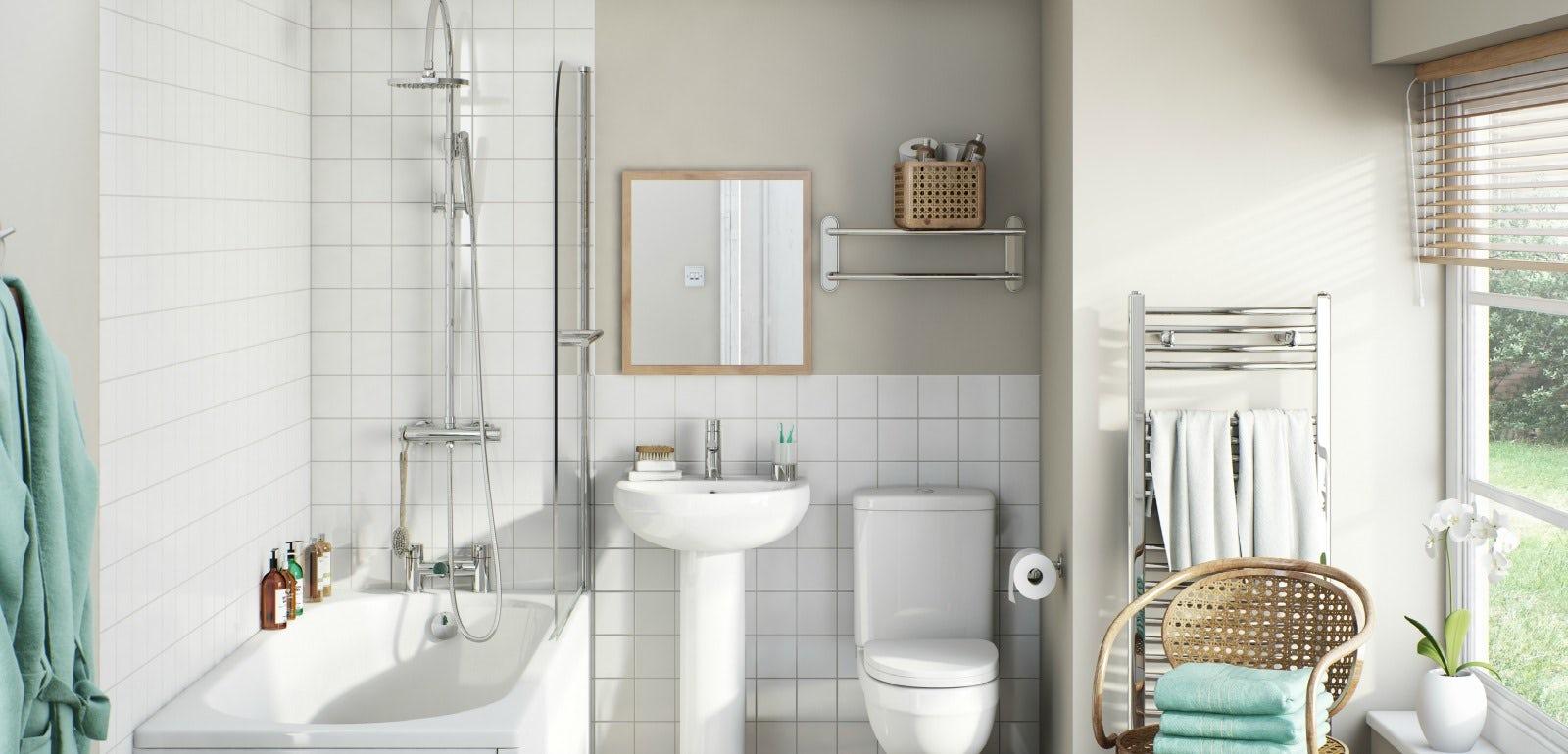 Planning a family bathroom | VictoriaPlum.com