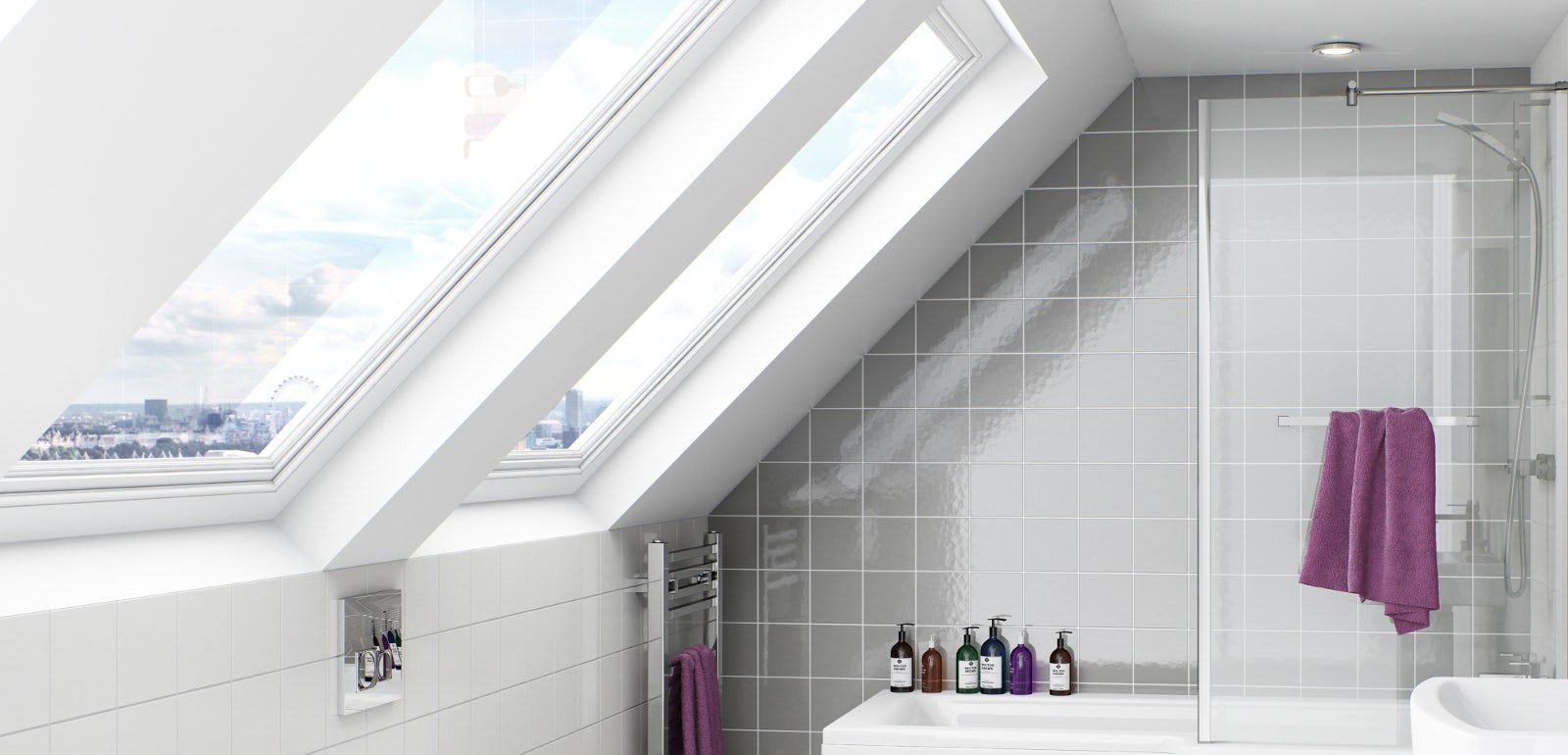 Optimal Usage Of Space And Items For Small Bathroom Ideas: Planning A Loft Bathroom