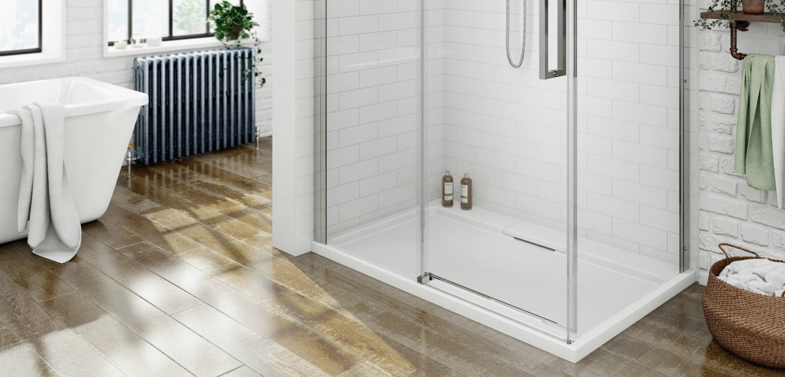 Walk In Shower Tray Guide | VictoriaPlum.com