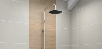 Striking a chord: The Chime shower range provides affordable luxury