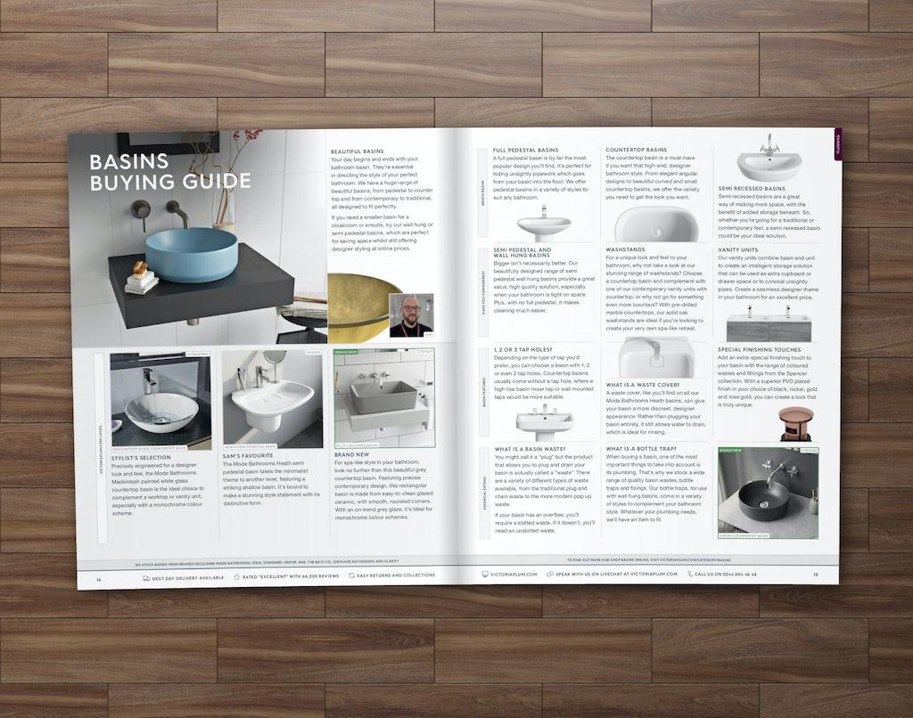 VictoriaPlum.com catalogue example page 1