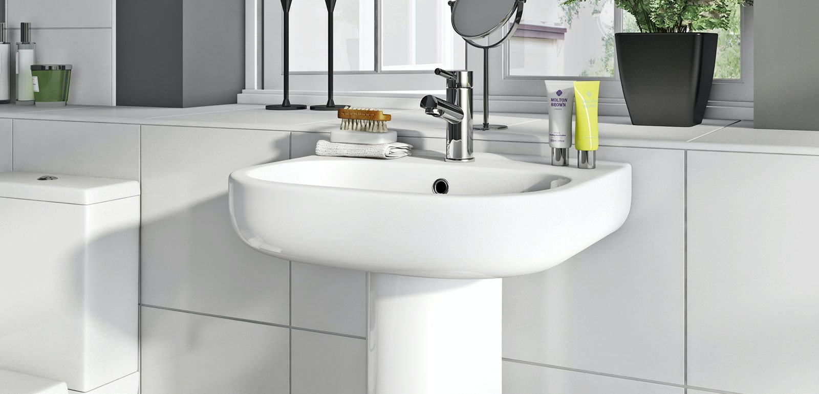 Lune bathroom suite range