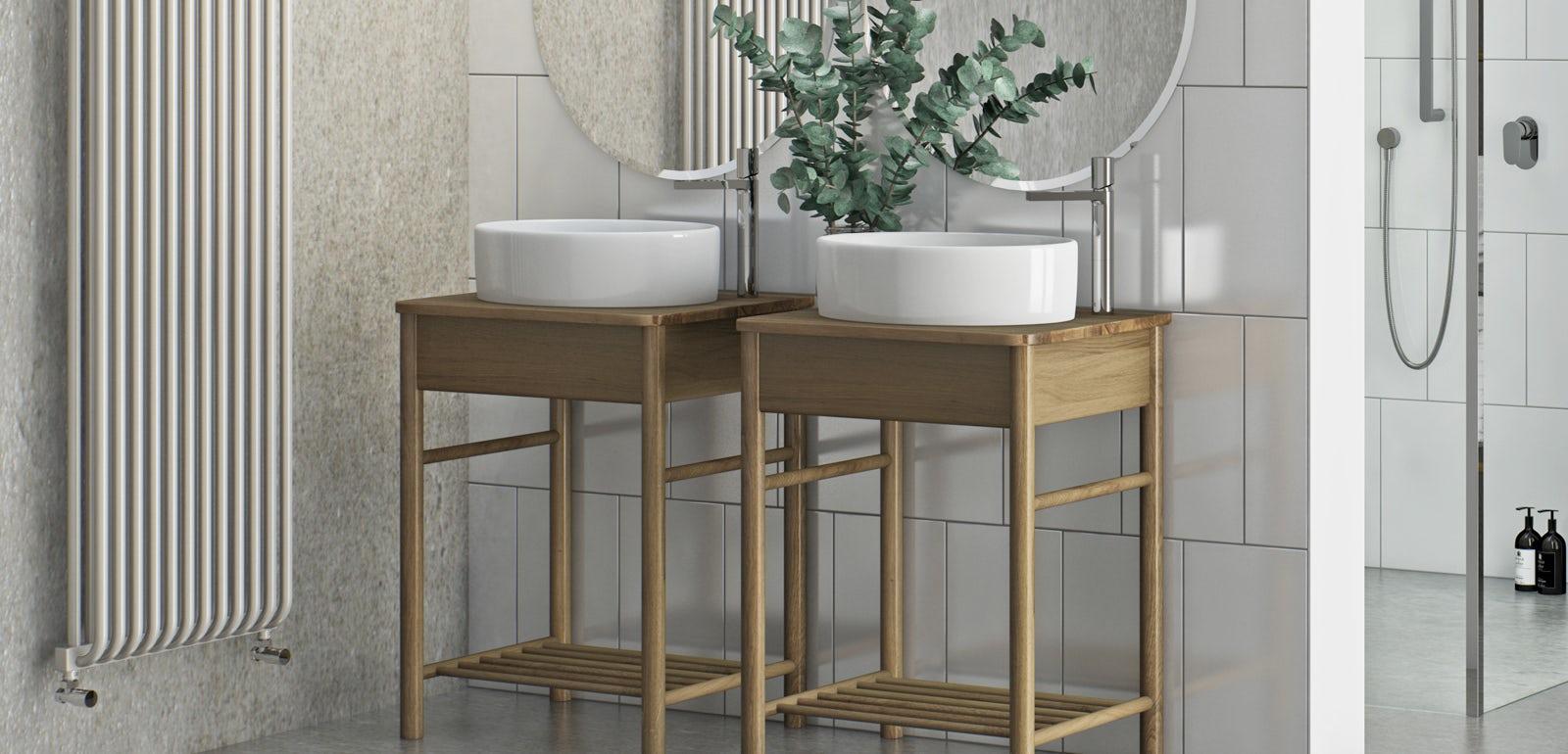 Countertop basin units