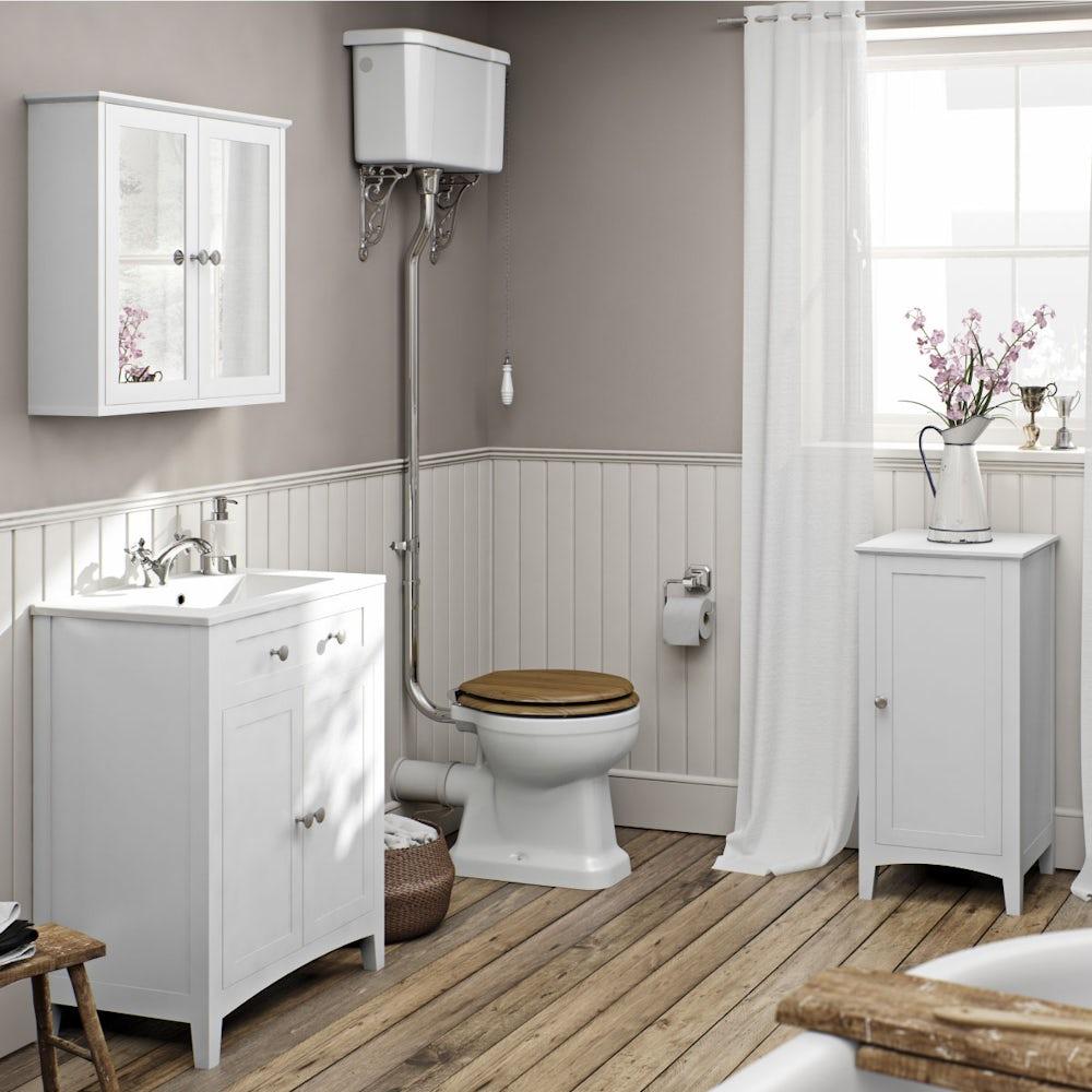 Camberley White Furniture Range