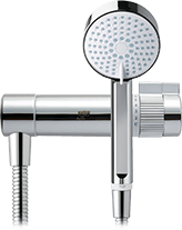 Mira agile mixer shower