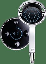 Mira platinum digital shower