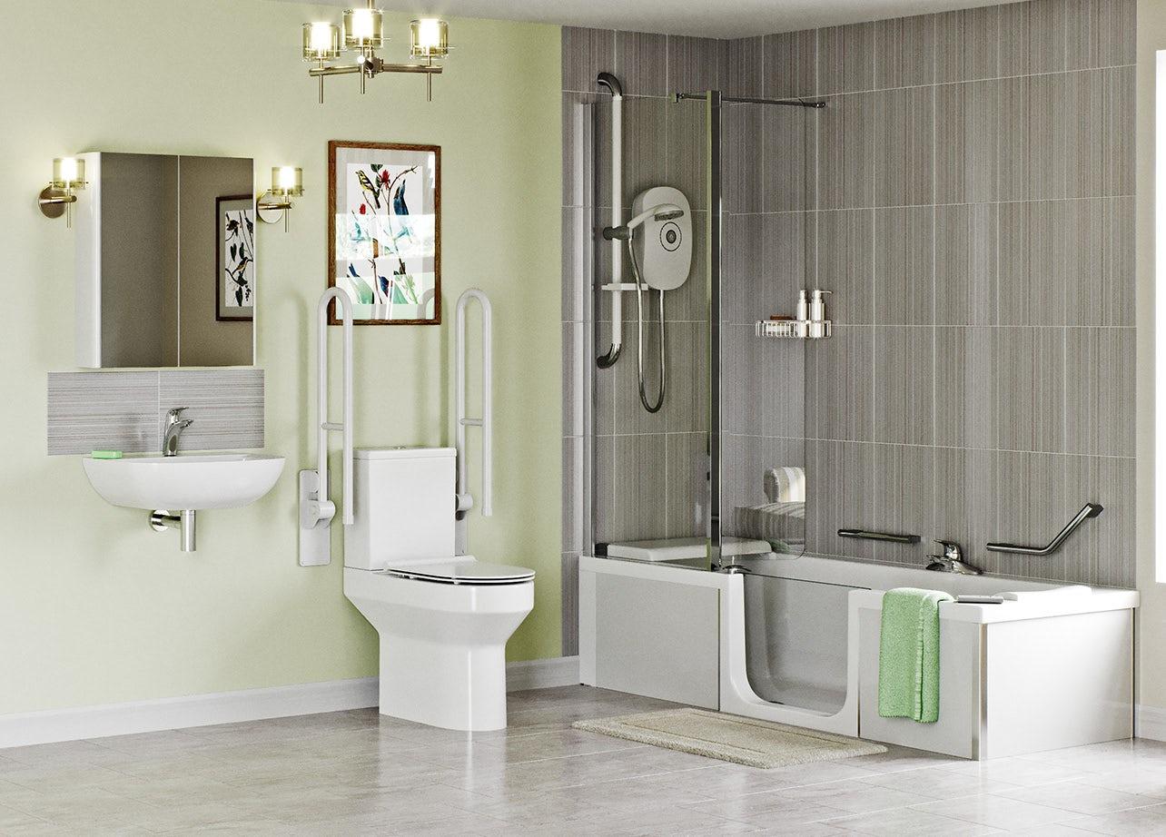 Independent Living Bathroom