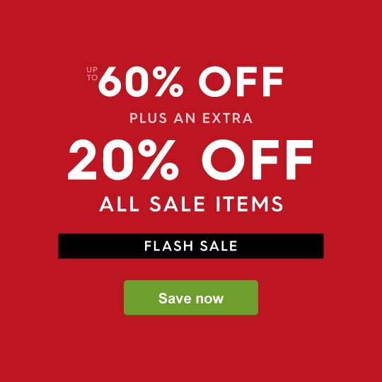 FLASH SALE - 20% off all sale prices