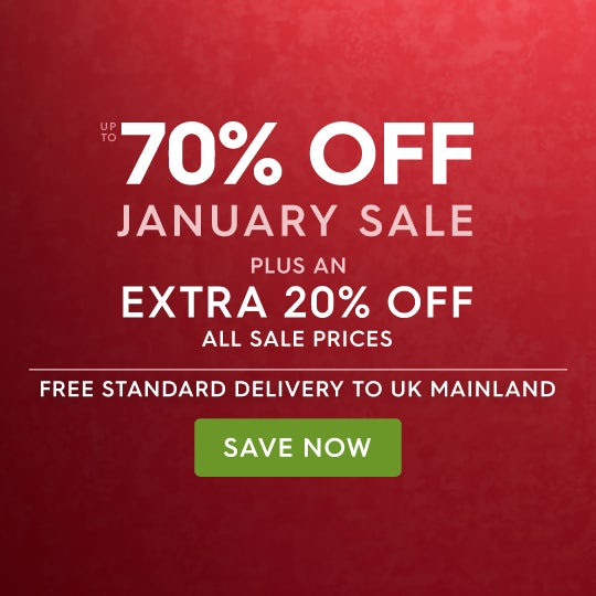 Up to 70% off January Sale