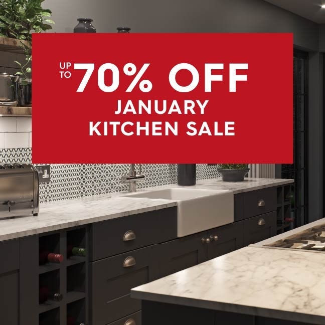 Up to 50% off December Kitchen Savings
