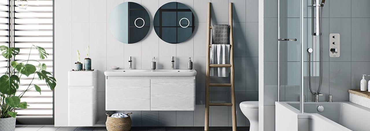 Bathroom furniture ranges