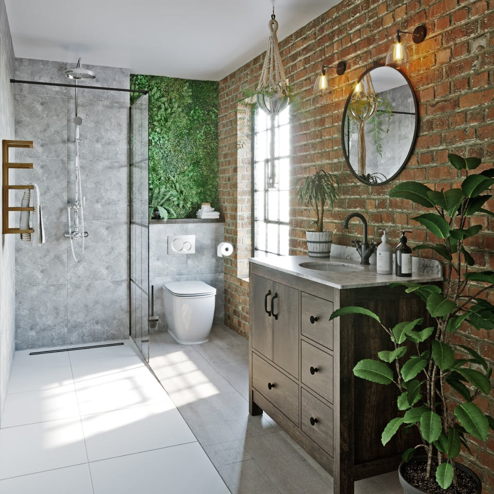8 totally tropical bathroom ideas for the urban jungle