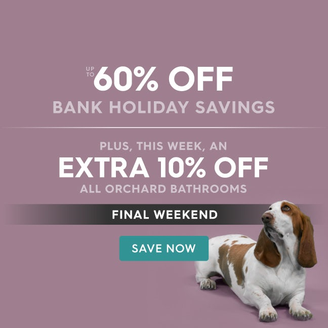 Up To 60 Off Bank Holiday Savings