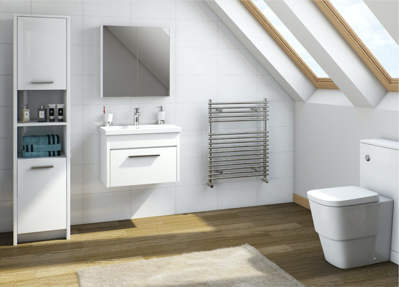 Clarity bathroom furniture