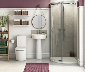 View our Range of Complete Bathroom Suites | VictoriaPlum.com Bathroom on family room, dining room, living room, bathroom cabinet, jack and jill bathroom, laundry room,