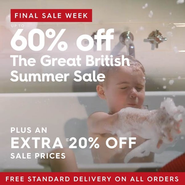 Up to 60% off The Great British Summer Sale