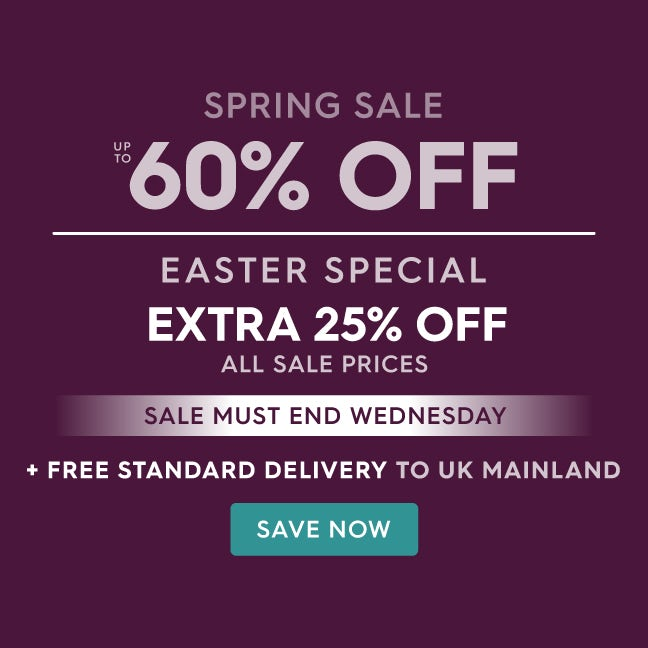 Up to 60% off Spring Sale