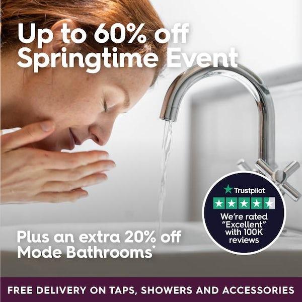 Up to 60% off Springtime Event