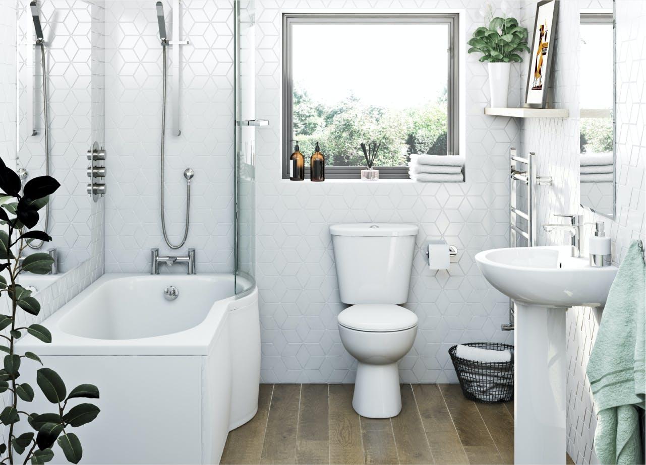 Clarity bathroom suites