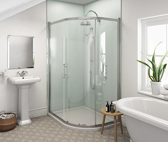 shower wall panels at victoriaplum com rh victoriaplum com bathroom wall panels shower enclosure bathroom shower wall panels home depot