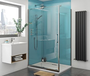 Gloss shower wall panels