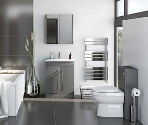 Derwent Stone Grey Bathroom Furniture