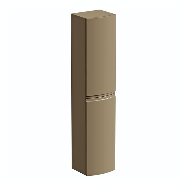 Harrison Latte Wall Hung Cabinet