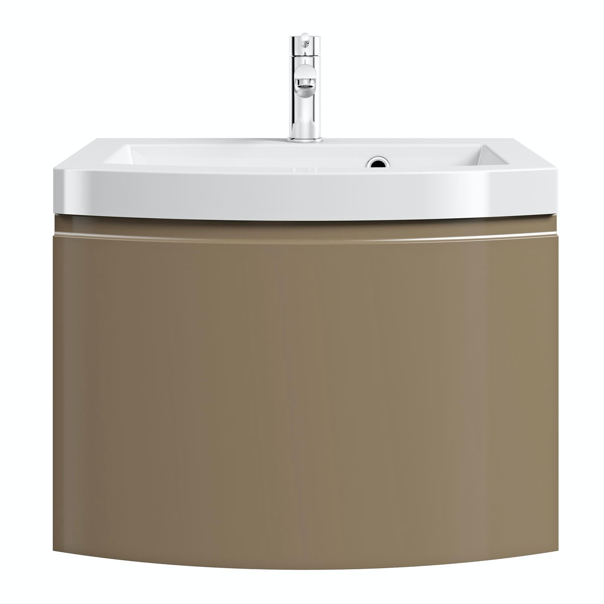Mode Harrison Latte Wall Hung Vanity Unit With Basin 600mm Offer Pack